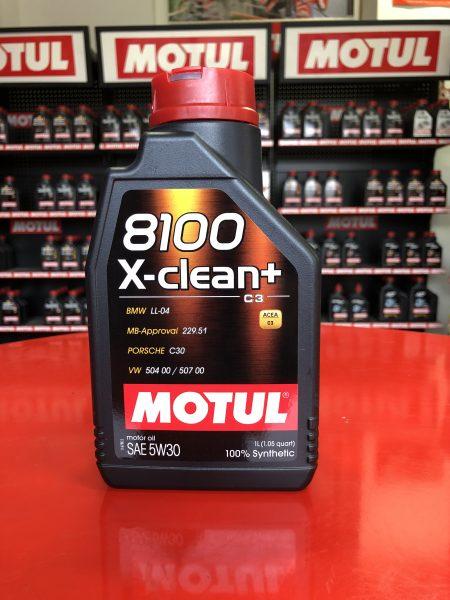 8100 X-CLEAN+ 5W-30