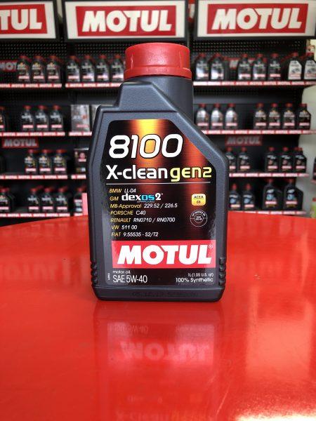 8100 X-CLEAN GEN2 5W-40