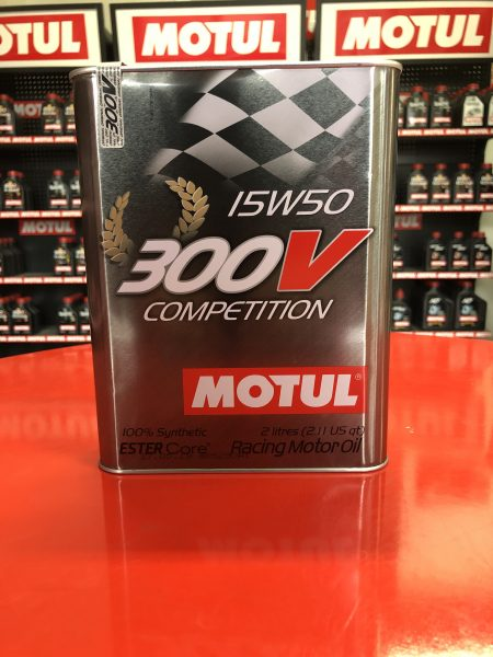 300V COMPETITION 15W50